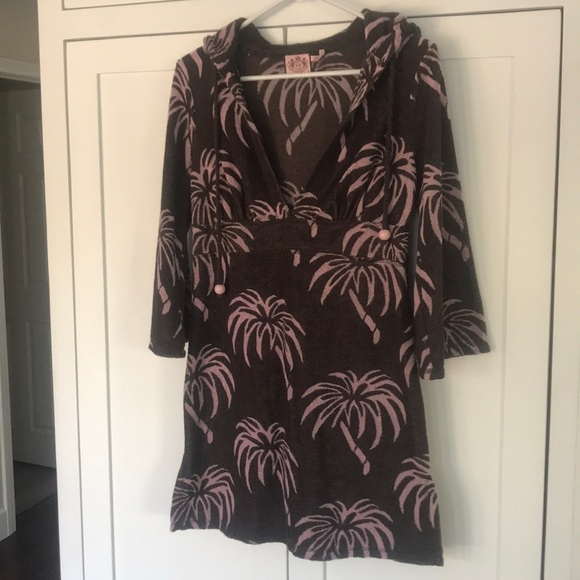b620fb9dab Juicy Couture Other - Juicy Couture Palm Tree Cover Up